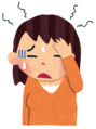 雨で頭痛が・・・