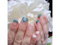 ネイルアンドビューティー アトリエスタイル(Nails&Beauty Atelier STYLE)ハンド&フットのおそろデザイン