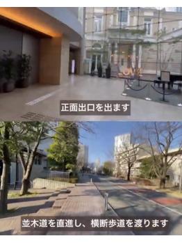 【道案内】赤坂駅から一番の近道_20210205_3