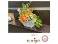 ☆ミモザとポピーのフラワーアレンジ☆