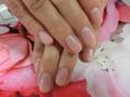 桜の花びらをふんだんに!季節ネイル( *´艸`)