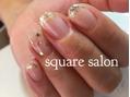 スクエア サロン(square salon)金箔ネイル