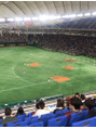 野球観戦☆