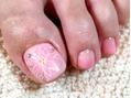 【Foot】足にも桜が