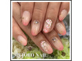 桜ネイル と グラブルネイル