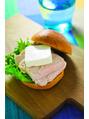 ダイエットレシピ♪チキンとクリームチーズのサンド