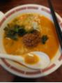 暑い日は、担々麺!