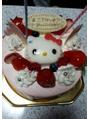 食べてもおいしい!見ても楽しいケーキ・娘の誕生日会