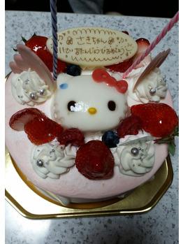 食べてもおいしい!見ても楽しいケーキ・娘の誕生日会_20180416_1