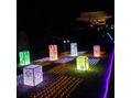 椿神社でライトアップ