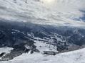 晴天な雪山
