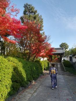 二人で京都へ行ってきましたよ♪_20181129_2