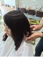 かわいい巻き髪スタイル