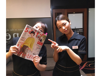 女性誌 saita 12月号にDioneが掲載されました♪_20171113_2
