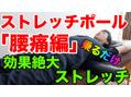 ストレッチポールの正しい使い方【腰痛編】