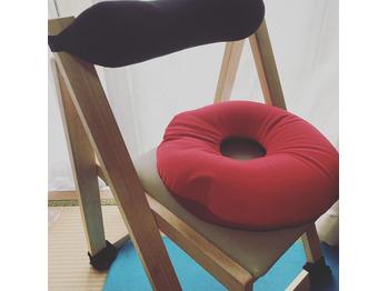 簡単にできる肩こり・腰痛対策 デスクワーク椅子編 MOGUクッション