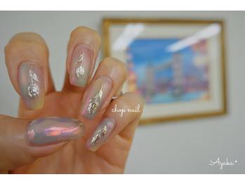 ★★チューリップと氷nail★★_20210410_1