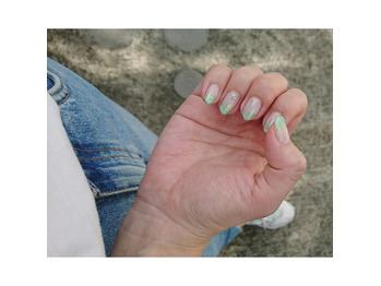 My nail ☆【ラメグラ】 oka_20200524_1