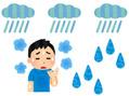 梅雨の時期の肌トラブル