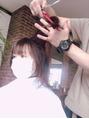 マスク着用のまま^^