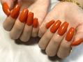 オレンジワンカラー♪
