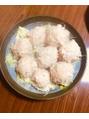 お豆腐と豚ミンチのシュウマイ