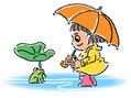 梅雨の季節がやってきました