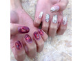 """◆""""clear color×silver""""ネイル◆"""