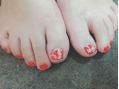 足の親指補強☆