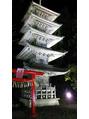 酒呑童子神社ライトアップ