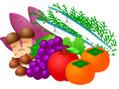 秋の食べ物と旬の恵み