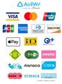 【ご案内】クレジットカード、交通系ICカード、QR決済