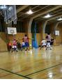 趣味のバスケットボール♪スポーツの秋ですね~