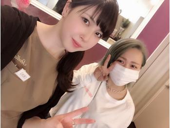 お客様と☆パシャリ_20190124_1