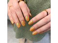 くすみオレンジカラー