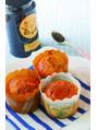 ダイエットレシピ♪大豆粉の紅茶マフィン