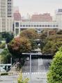 季節感ある西新宿