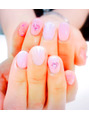 ピンクのマーメイドネイル☆
