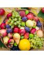 秋の果物と美容効果