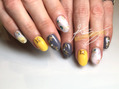 【Gold】New year Nails