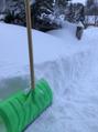 雪かきという名の半強制運動