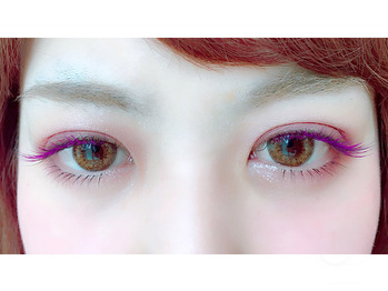 ◇◆ purple×darkbrown ◆◇