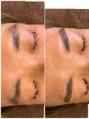 メンズ眉毛のWAX脱毛スタイリング