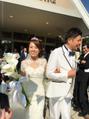 エステシャンかおりの結婚式でした(*^▽^*)