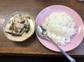 タイ料理とデザート