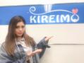 ティナさんがKIREIMOにご来店くださいました♪