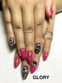 Crash shell nail