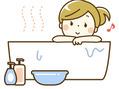 冷え対策! お風呂で身体を温めましょう