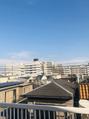 今日は天気が良く暖かい