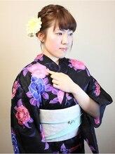 アイディアルヘアー ボニート(idealhair bonito)三つ編みローポイントアップスタイル 1